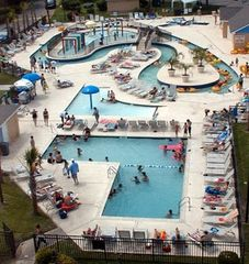 Myrtle Beach Resort condo photo - Lazy River and Waterpark