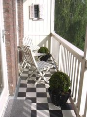 Sunny balcony - East Amsterdam apartment vacation rental photo