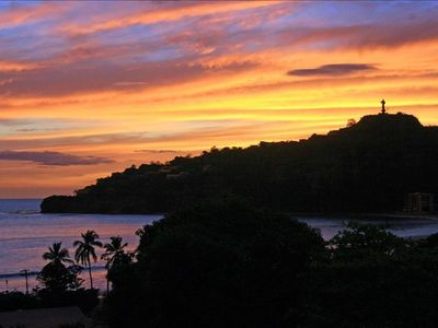 Enjoy a beautiful San Juan Del Sur sunset right from your balcony
