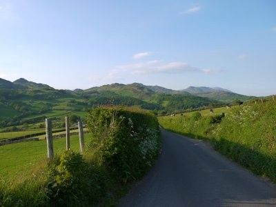 Coniston barn rental - Road leading into Broughton Mills