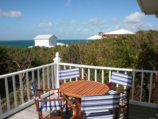 Great Guana Cay cottage photo - Deck Table and Chairs