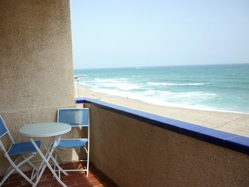 Relax in your own private balcony & perfect views