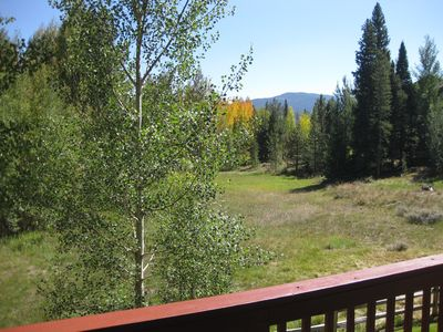 View from deck off Family Room