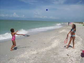 Captiva Beach at the end of our lane - Captiva Island house vacation rental photo