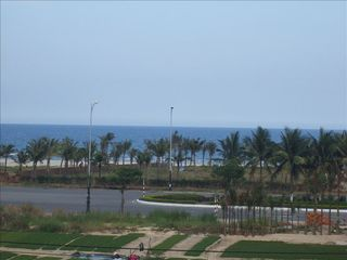 Only gardens between our villa and the Beach road. - Da Nang villa vacation rental photo