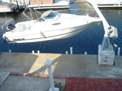 Plantation Key house rental - dock
