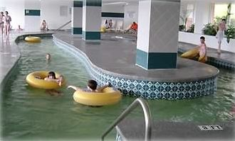 12 indoor, outdoor pools / hot tubs, 2 outdoow, indoor Heated Lazy Rivers