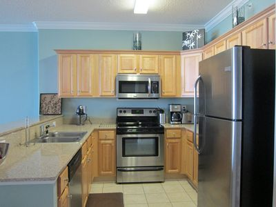 Upgraded Stainless steel kitchen with tools for a gourmet chef