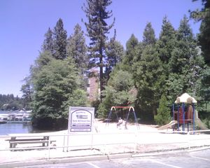 Lake Arrowhead house photo - Kids playground at the beach