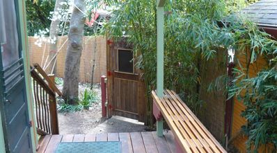 Close the front gate; your own lush private space!
