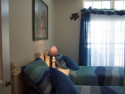 North Wildwood condo rental - Twin Rm: Nautical Under Sea Fun; FlatscreenTV/DVD