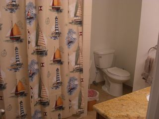 Warm Beach house photo - Main Bathroom Full Soaking Tub with Massage Jets
