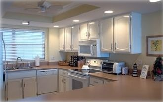 Fully Equiped Large Kitchen with Brand New Appliances and Stocked Cabinets