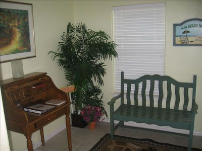 Port Aransas house rental - Foyer