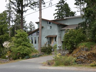 Victoria house rental - Westcoast stye home in Brentwood Bay 2 blocks from the water.