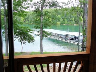 Branson condo photo - View from covered deck