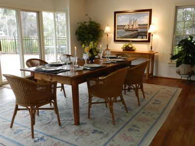 Sea Pines house rental - Dining Room