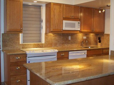 Beautiful remodeled kitchen that is well equipped with everything you would need