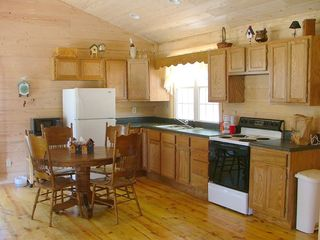 fully stocked kitchen - Muddy Pond cabin vacation rental photo