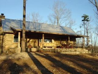 Mount Judea cabin rental - Cabin Front overlooks Cave Creek below