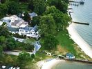 As a guest of Sandaway you can enjoy the waterfront lawn and private sandy beach - Oxford lodge vacation rental photo