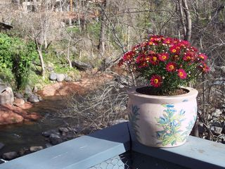 Sedona cottage photo - Deck Overlooking Oak Creek