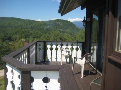 Fantastic Mountain Views from Deck