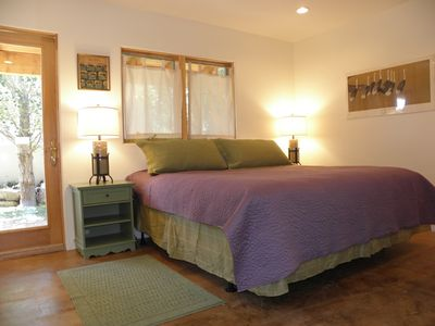Taos condo rental - Sleep or Snuggle in this new top of the line King