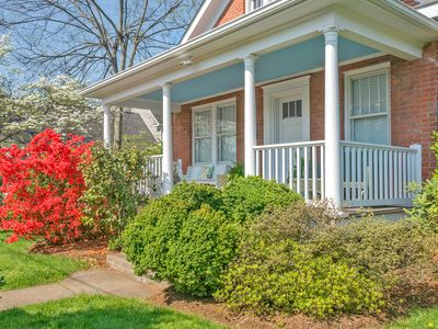 Enjoy your stay even more on this gracious front porch.