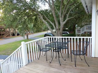 Seabrook Island cottage photo - Front Deck