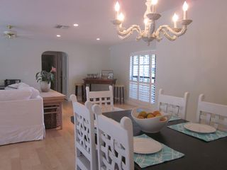 Vero Beach house photo - Dining room opens to living room and kitchen
