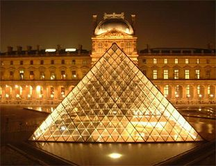 1st Arrondissement Louvre apartment photo - Superb Louvre Pyramid and Museum very close to the apartment