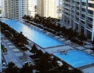 Brickell apartment photo - Pool area on 15th floor