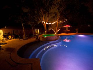 Austin house photo - The best hot tub, pool and backyard centrally located! Hands down the best deal!