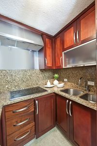 San Juan apartment rental - Fully equipped kitchen
