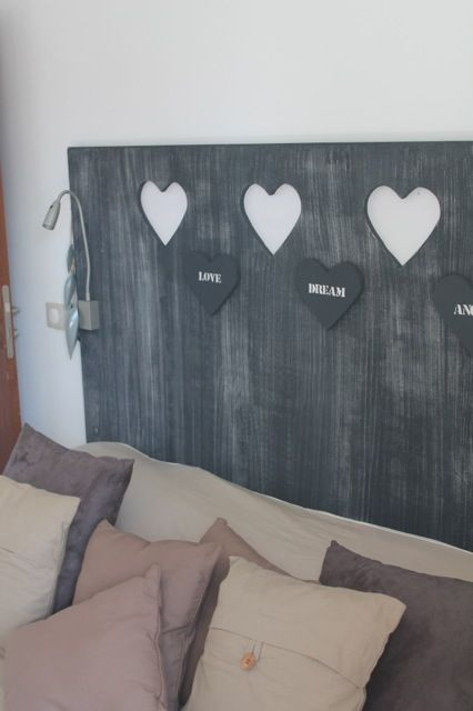 0ne of the room 'heart' details factories by artists from St Martin.