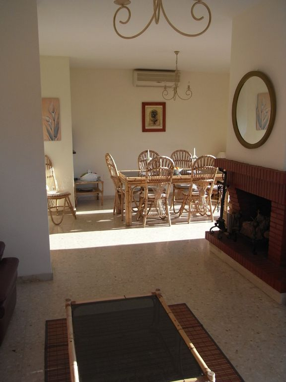 Dining area from lounge