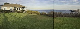 Rockport house photo - Lawn View of House and Sea
