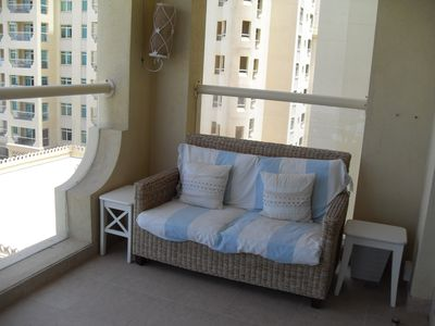 furnished balcony