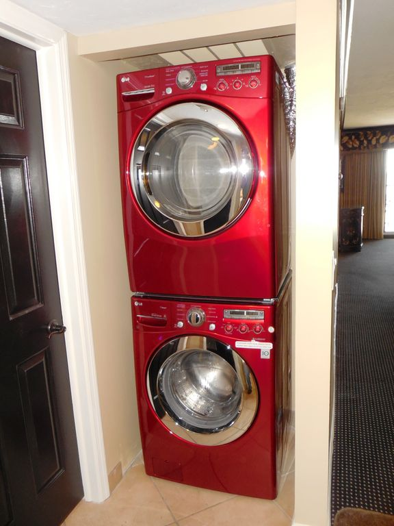 Full size front load LG washer & dryer