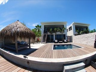 Bonaire villa photo - Dock View