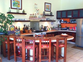 Isla Mujeres house photo - Large Kitchen