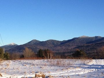View from Mt. Pisgah of the Adirondack's High Peaks. Whiteface is on the left.