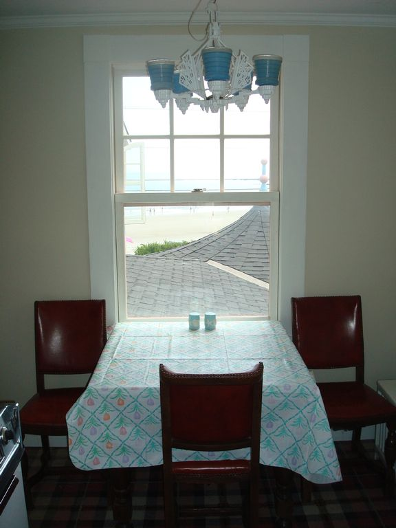 Kitchen Table Overlooking Mother's Beach
