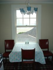 Kennebunk Beach house photo - Kitchen Table Overlooking Mother's Beach