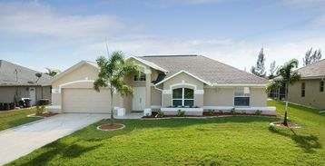 Cape Coral villa rental - Front view