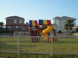 South Padre Island condo photo - playground
