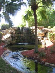 Naples condo photo - Second waterfall on property.