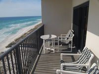 On the Beach! Gulf Front 8th Floor Condo with POOL And Ocean