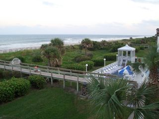 Cape Canaveral condo photo - Boardwalk Access directly to Beach